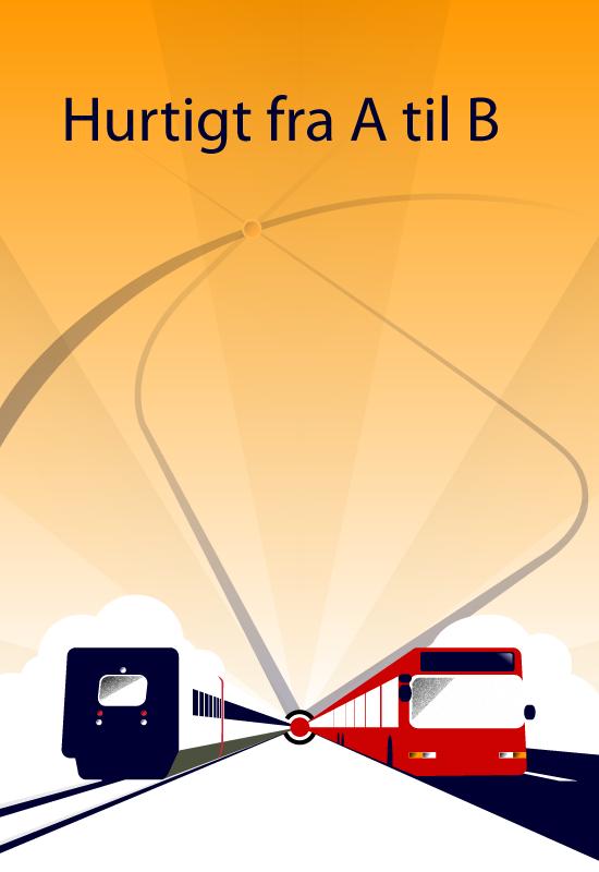 Plakat til rejseplanen